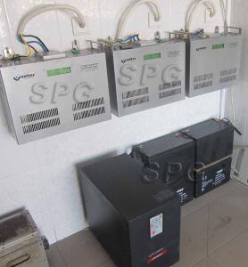 Резервная система бесперебойного питания частного дома мощностью 3 кВт